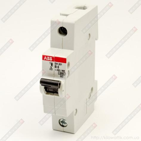 Автоматический выключатель АВВ SH201 B10A