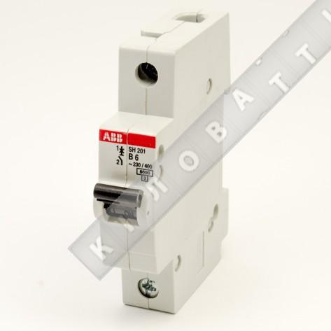 Автоматический выключатель АВВ SH201 B06A