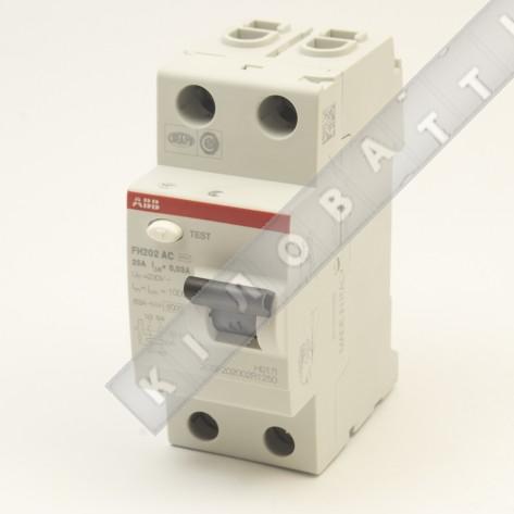 Дифференциальное реле АВВ FH202 AC-63/0,03
