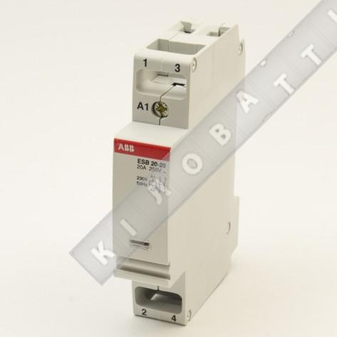 Контактор модульный ABB ESB20-11 230V/50Hz