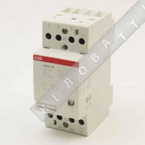 Контактор модульный ABB ESB24-40-230AC/DC