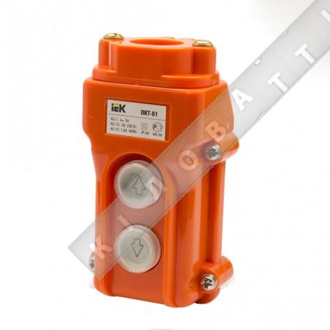 Пульт управления IЕК ПКТ-61 на 2 кнопки IP 54