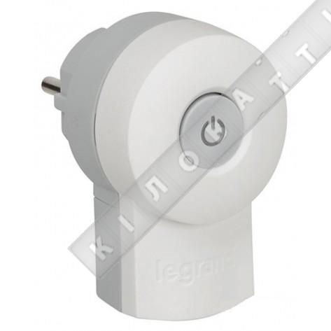 Вилка с выключателем 16А, Legrand