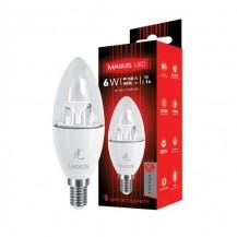 Лампа C37 CL-C 6W 3000K 220V E14 AP