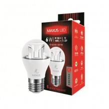 Лампа G45 6W 5000K 220V E27 AP