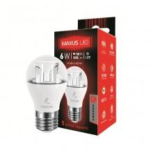 Лампа G45 6W 3000K 220V E27 AP