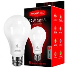 Лампа A65 12W 3000K 220V E27 AP