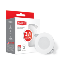 Светодиодный светильник SDL 3W 4100K