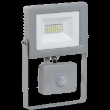 Прожектор СДО 07-20Д светодиодный серый с ДД IP44 IEK