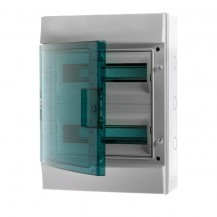 Щиток 24-модульный IP65 MISTRAL65 прозрачная дверь