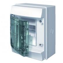 Щиток 4-модульный IP65 MISTRAL65 прозрачная дверь