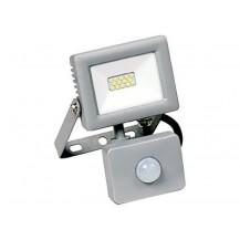 Прожектор СДО 07-10Д светодиодный серый с ДД IP44 IEK