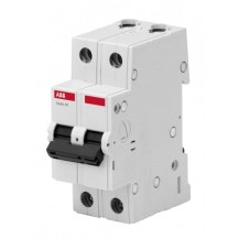Автоматический выключатель ABB Basic M 2P 63A C 4,5кА, BMS412C63