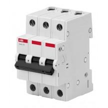 Автоматический выключатель ABB Basic M 3P 6A C 4,5кА, BMS413C06