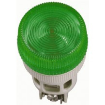 Лампа IЕК Лампа ENR-22 сигнальная d22мм зелёный неон/240В цилиндр