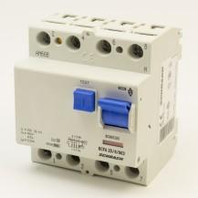 УЗО  переменного тока SCHRACK 6кА/30мА 4P 63А