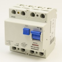 УЗО  переменного тока SCHRACK 6кА/30мА 4P 25А