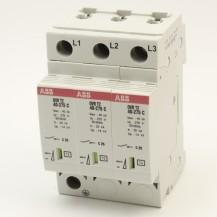 Ограничитель импульсных перенапряжений ABB ОVR T2 3L 40-275 P(со сменным картриджем)