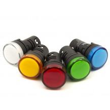 Лампа IЕК AD 22DS(LED) матрица d22мм белый 240В