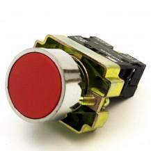 Кнопка управления IЕК LAY5-BA41 без подсветки красная 1з