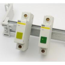 Сигнальная лампа IЕК ЛС-47М (желтая) (матрица)