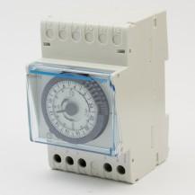 Таймер суточный аналоговый HAGER 16A, переключающий контакт, запас хода 200ч, 3м