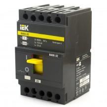 Автоматический выключатель IЕК ВА88-32 3Р 125А 25кА