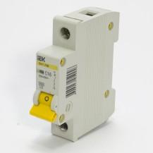 Автоматический выключатель IЕК ВА47-29М 1P 16А 4.5кА х-ка С