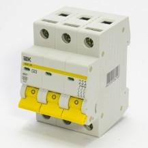 Автоматический выключатель IЕК ВА47-29М 3P 06А 4.5кА х-ка С