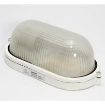 Светильник НПП 1401 белый овал 60 Вт IP 54