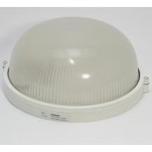 Светильник НПП 1101 белый круг 100 Вт IP 44