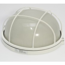 Светильник НПП 1102 белый круг с реш. 100 Вт IP 54