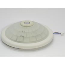 Светильник НПО3233Д белый 2х25 с датчиком движения