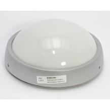Светильник ДПО 1301 серый круг LED 6x6 Вт IP54