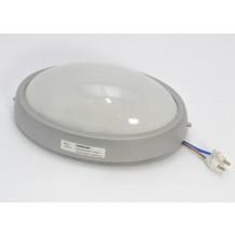 Светильник ДПО 1401 серый овал LED 6x6 Вт IP54