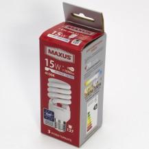 Лампа Xspiral 15W, 4100K, E27