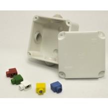Коробка распределительная 4-вивод. 5х2, (5 мм)