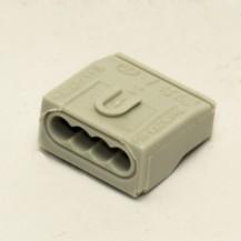 Клеммник быстрого соединения 4p, 400V, 1,5-2,5 мм. кв