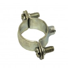 Скоба металлическая двухкомпонентная  d 21-22 мм