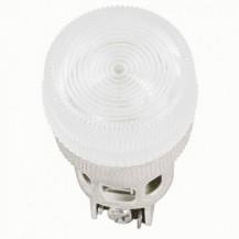 Лампа IЕК Лампа ENR-22 сигнальная d22мм белый неон/240В цилиндр