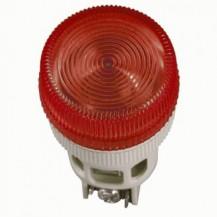 Лампа IЕК Лампа ENR-22 сигнальная d22мм красный неон/240В цилиндр