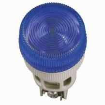 Лампа IЕК Лампа ENR-22 сигнальная d22мм синий неон/240В цилиндр