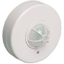 Датчик движения ДД 024 белый, угол обзора 120-360гра, дальность 6м, IP33,
