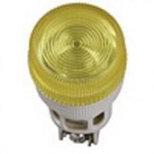 Лампа IЕК Лампа ENR-22 сигнальная d22мм желтый неон/240В цилиндр