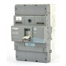 Автоматический выключатель HAGER 250А, 3п, 40kA, Тфикс./Мфикс