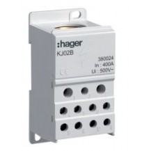 Блок ответвительный In = 125 A, вход 1 х 35 мм кв. + 1 х 16 мм кв., выход 6 х 16 мм кв.